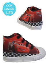 Zapatillas de bebe Cars con luces led. Disney