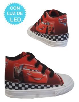 Zapatillas de bebe Cars con luces led. Disney