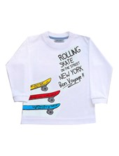 REMERA M/L SKATE ROLLING. COLORES SURTIDOS. GRUNY