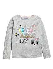 REMERA M/L BEBA LEARN. COLORES SURTIDOS. GRUNY