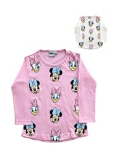 Remera Beba Manga Larga Minnie Disney