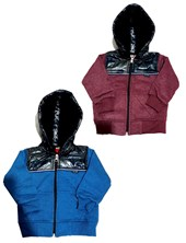 Campera frisa bebe con inflable. Colores surtidos. Flirty