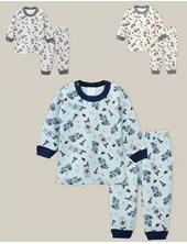 Pijama Bebe 2 Piezas ESTAMPADO . Colores surtidos. Naranjo.