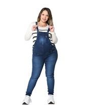 Jardinero de Jean con Bigotes para embarazadas Que Sera?