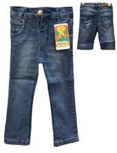 Pantalon de Jean Gastado con Bolsillos para Niño