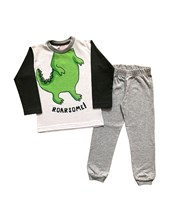 Pijama conjunto jersey estampado Boneco. Disney.