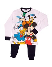 Pijama Manga Larga Mickey y amigos. Disney
