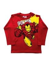 Remera Manga Larga nene Iron Man. Disney