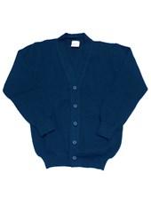 Cardigan con botones Azul Pat y Ver. Consultar mas colores