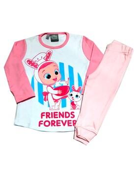 Pijama Cry Babies interlock estampado. Disney