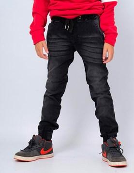 Pantalon Jogger Jean Negro para Niño Popeye
