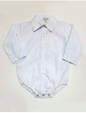 Body camisa Manga Larga liso bebe. Rimbi