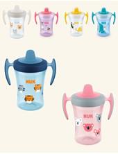Vaso NUK Evolution Trainer Cup con pico blando. Colores surtidos. Nuk