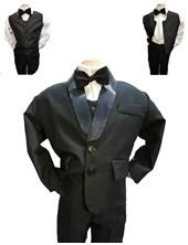 Conjunto 4 piezas Saco,  Pantalon,  Camisa y Moño. Children Dior.