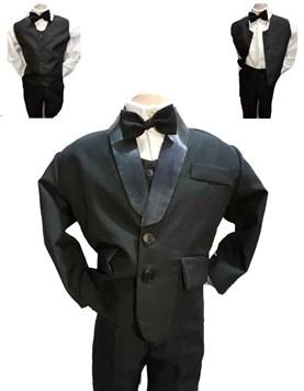 Conjunto 4 piezas Saco,Pantalon,Camisa y Moño. Children Dior.