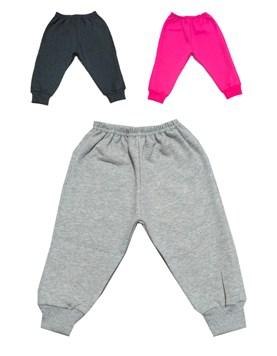 Pantalón jogger bebe c/puño frisa. COLORES SURTIDOS. Petenone.