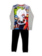 Pijama Manga Larga Avengers Niño Licencia Marvel