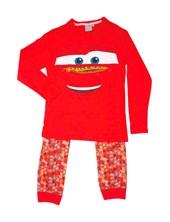 Pijama Manga Larga Cars con Pantalon Combinado Licencia Disney