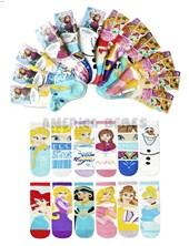 Media niños 1/2 caña. Princesas y Frozen .Disney Licencia.