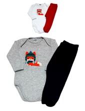 Conjunto body y pantalon. Colores surtidos. Yaby