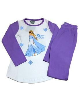 Pijama Manga Larga nena Frozen. Disney