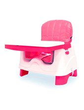 Silla para Comer Tipo Booster con tapa Rosa Ok Baby Articulo (OKBB0228)