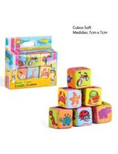 Set de 6 Cubos Apilables Soft E-Learning