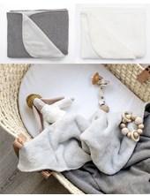 Manta Doble Polar 80cm x 95cm en Eco-bolsa Happy Little Moments