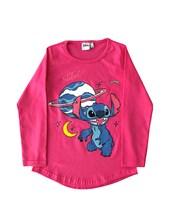 Remera M/L nena Stitch. Disney