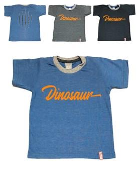 Remera nene M/C jersey jaspeado. Dinosaur. Colores surtidos. Premium Only Baby.