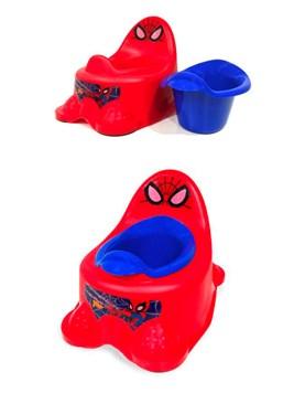 Pelela spiderman con Recipiente Marvel Articulo (WDISPOT002)