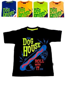 REMERA M/C DOG HOUSE NENE. GRUNY
