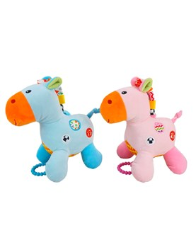CABALLO CUNERO MUSICAL WOODY TOYS