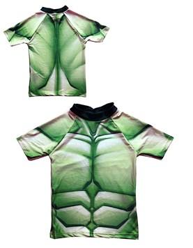 Remera M/C disfraz FULL ESTAMPA Hulk. Disney