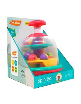 OKBB0231 SPIN BALL DIDACTICO PARA BEBES OK BABY