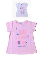 REMERA M/C NENA ESTAMPADA LOVE FUTURE. GEPETTO